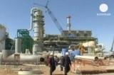 Нефтедобыча на Кашагане, Казахстан. Кадр Euronews