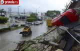 Последствия ураганов в Мексике. Кадр pravda.ru
