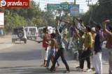 Мусульманские погромы в Индии. Кадр pravda.ru