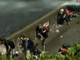 Сторонники Новых Красных Бригад устраивают беспорядки в Италии. Кадр Euronews