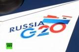 Саммит Большой Двадцатки в России в 2013 году. Кадр RT