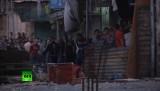 Беспорядки на западном берегу Иордана. Кадр RT