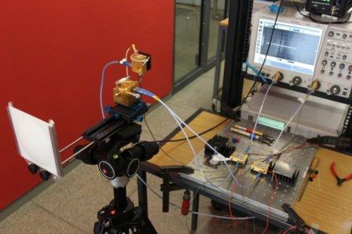 Установлен новый рекорд по скорости беспроводной передачи данных - 100 гигабит в секунду