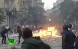 Беспорядки в Египте. Кадр RT