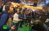 ИгроМир-2013 в Крокус Экспо в Москве. Кадр RT