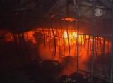 Пожар на швейной фабрике в Бангладеш. Кадр NTDTV