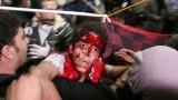 """Кровавые беспорядки в Египте. Кадр ИА """"Большой Кавказ"""""""