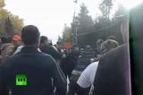 Канадцы против добычи сланцевого газа. Кадр RT