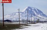 Снег в США привёл к обрывам ЛЭП. Кадр pravda.ru