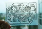 Печатная плата для бытовой электроники, напечатанная на струйном принтере