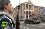 В Киеве отметили 70-ю годовщину освобождения от фашистов. Кадр RT RUPTLY