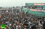 Протест против беспилотников США в Пешаваре, Пакистан. Кадр RT