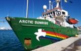 Arctic Sunrise - судно Greenpeace. Фото: nedoblog.ru