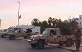 Армейский КПП в пригороде Триполи, Ливия. Кадр NTDTV