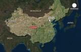 В Синьцзянском городе Кашгаре экстремисты напали на полицейский участок. Кадр Euronews