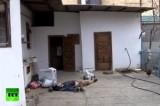 Убитый в ходе спецоперации террорист в Махачкале. Кадр RT