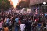 Египет: митинг против закона о митингах. Кадр Euronews