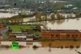 Наводнение на итальянской Сардинии. Кадр RT