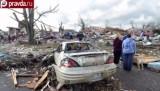 Последствия торнадо в Иллинойсе. Кадр pravda.ru