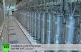 Иранские центрифуги для обогащения урана. Кадр RT