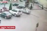 """Взрыв в Махачкале в магазине """"Гастроном 24"""". Кадр LifeNews"""