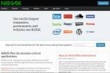 Скриншот сайта nginx.com