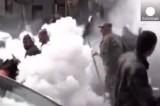 Беспорядки в Ереване. Кадр Euronews