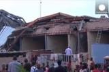 Разрушенное здание в Лагосе, Нигерия. Кадр Euronews