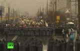 """""""Русский марш"""" 2013 в Москве. Кадр RT"""