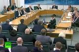 Главы британских спецслужб отчитались перед парламентом. Кадр RT