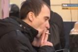 Курение. Кадр РИА Новости