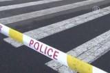 Полицейское оцепление на месте взрывов в Тайюане перед зданием Компартии в Китае. Кадр NTDTV