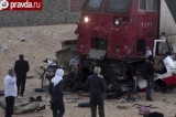 Ужасное происшествие на железнодорожном переезде в Египте. Кадр pravda.ru