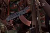 Оружие в руках центральноафриканского мятежника. Кадр NTDTV