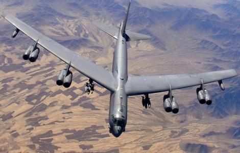 Бомбардировщик США Б-52 над Афганистаном. Фото: Дэвид Кеннеди / ВВС США
