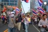 Марш оппозиции в Бангкоке. Кадр Euronews