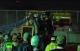 Штурм полицейских заграждений на угнанном бульдозере в Бангкоке. Кадр RT