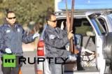 Калифорнийцы сдают оружие. Кадр RT RUPTLY