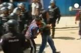 Поимка сбежавших заключённых в Эквадоре. Кадр Euronews