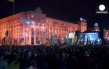 Евромайдан. Кадр Euronews