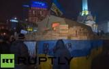 Лагерь оппозиции на Майдане. Кадр RT RUPTLY
