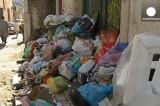 Горы мусора в Лиссабоне. Кадр Euronews
