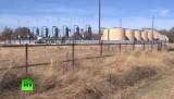 Добыча сланцевого газа в США. Кадр RT