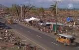 Последствия тайфуна Хайян на Филиппинах. Кадр NTDTV