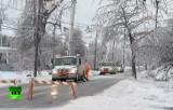 США после ледяного шторма. Кадр RT