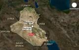Город Баакуба на карте Ирака. Карта Euronews / DigialGlobe