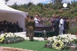 Похороны Нельсона Манделы в ЮАР. Кадр Euronews
