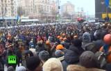 Митинг в центре Киева. Кадр RT
