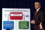 Нью-Йокский прокурор рассказывает о мошеннической схеме, в использовании которой обвиняют российских дипломатов. Кадр NTDTV