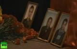 Фотографии погибших при взрыве полицейских в Волгограде. Кадр RT